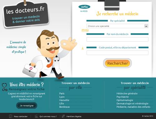 www.lesdocteurs.fr