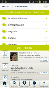 Lancement de l'application Fondation Alzheimer