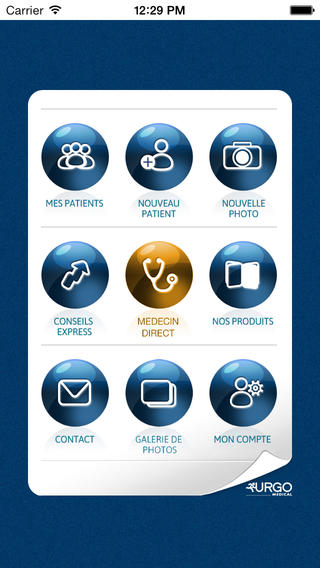 Lancement de l'application mobile UrgoExpert