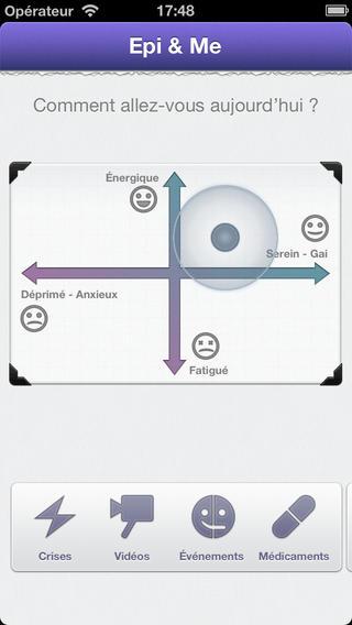 Epi&Me : application pour patient épileptique