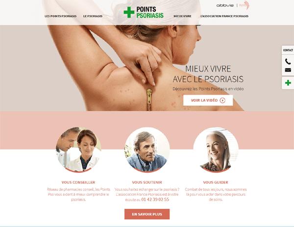 Mieux vivre avec son psoriais : Points-psoriasis.fr