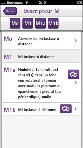 TNM Pocket : application pour classifier les tumeurs pulmonaires
