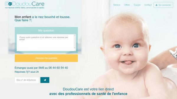 Doudoucare : téléconseil pour la santé de l'enfant
