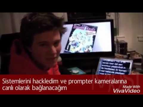 Max Butler Canlı Yayında Haber Bültenini Hackliyor