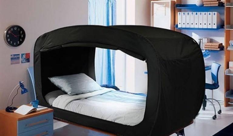 Bu Yatak Çadırı Sayesinde Uykunuzda Hiç Rahatsız Olmayacaksınız!