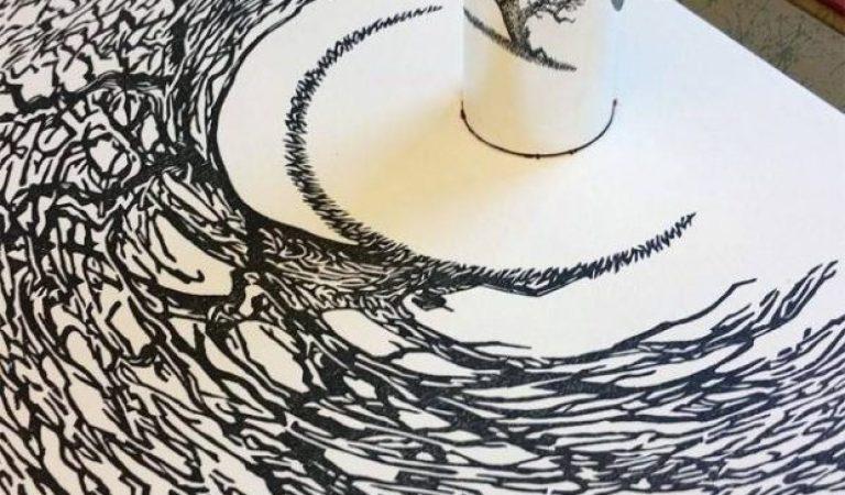 Yansımalarla Sanat Yapan Jonty Hurwitz'den Beyin Açan 13 Çalışma