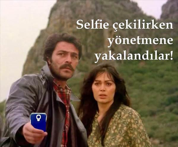 Al YAzmalım Selfie Kadir İnanır ve Türken Şoray