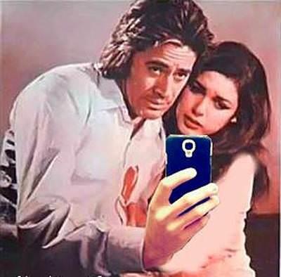 Cüneyt Arkın Selfie