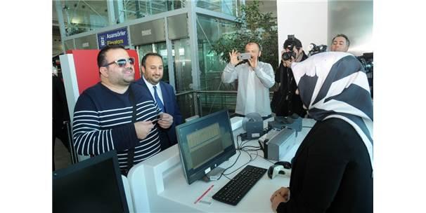 Tarık Sarseb Braille alfabesi Türk Hava Yolları Biniş Kartı