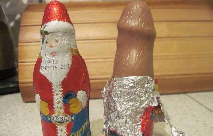 Penis Resimleri Temalı Noel Süsleri ve Tasarımları