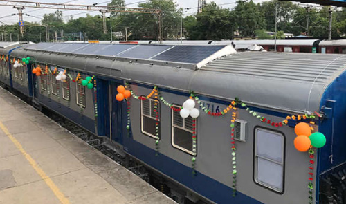 Indian Railways Sets up Solar Plant to Run Trains
