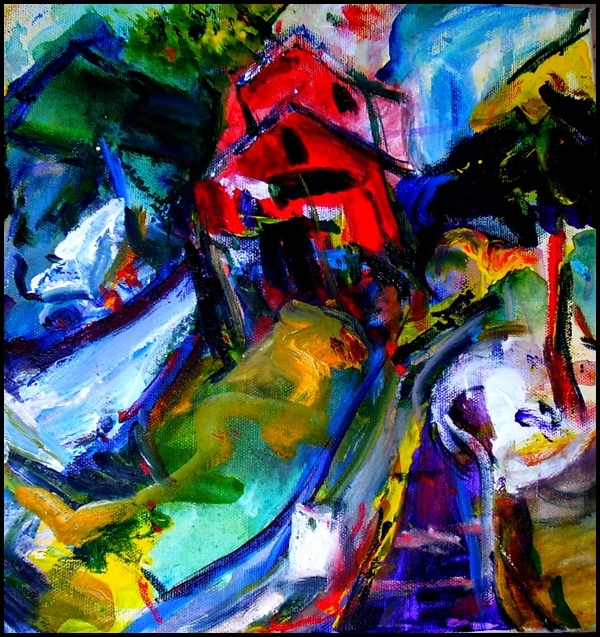 30 Abstract Painting Ideas for Beginners on Modern Painting Ideas  id=39273