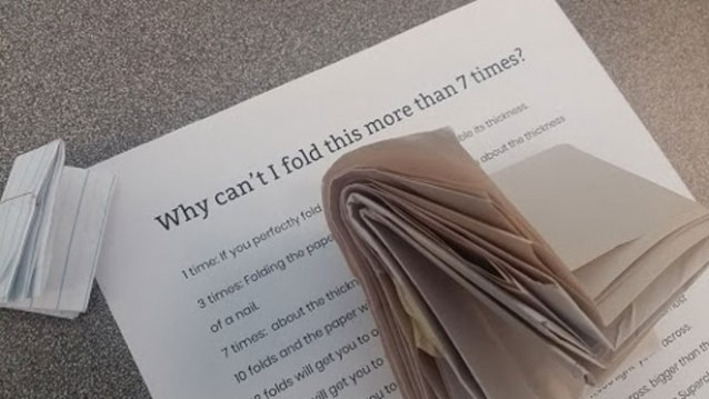 fold paper facts