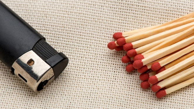 lighter matches facts