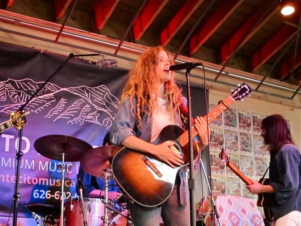 Leslie Stevens at Make Music Pasadena, June 6, 2015