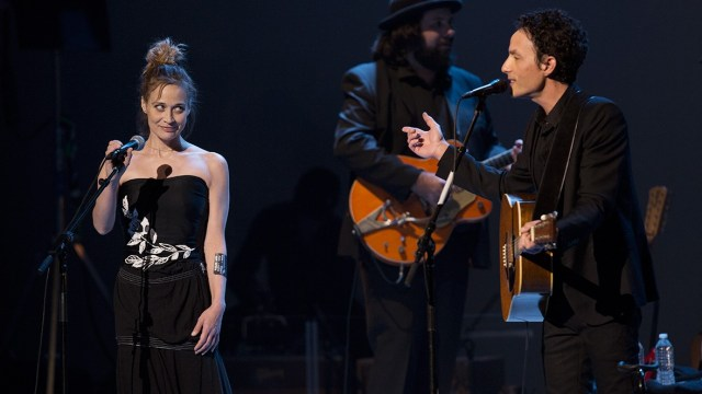 Fiona Apple and Jakob Dylan at Echo in the Canyon (Photo by Chad Elder)