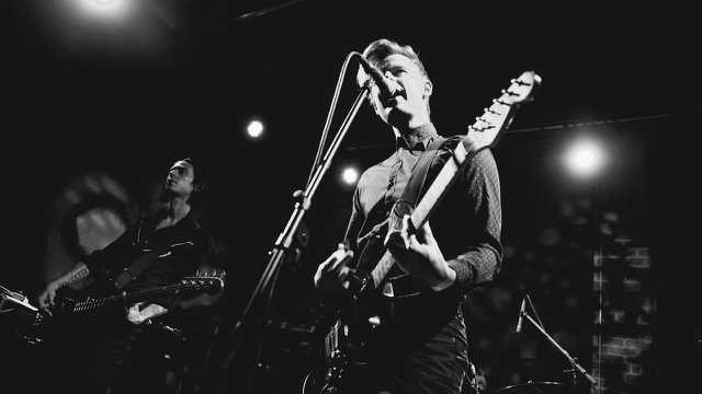 Dear Boy, at the Bootleg in December (Photo by Michelle Shiers)