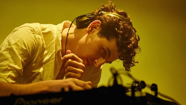 Jamie xx, at the Shrine in October (Photo by David Benjamin)
