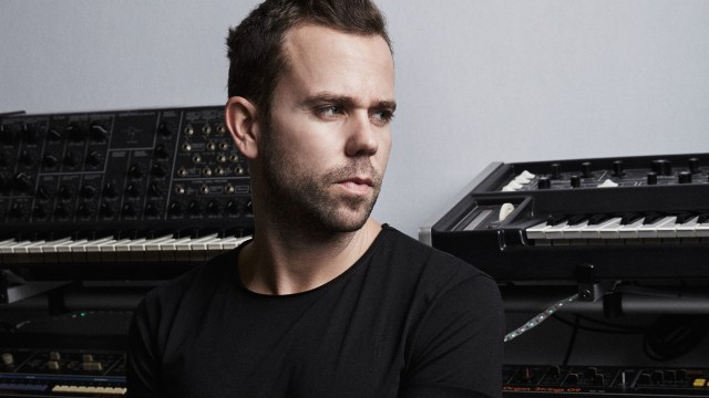 M83's Anthony Gonzalez, playing April 19 at the Fox in Pomona
