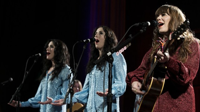 Jenny Lewis & the Watson Twins at the Cathedral Sanctuary at Immanuel Presbyterian (Photo by Chad Elder)