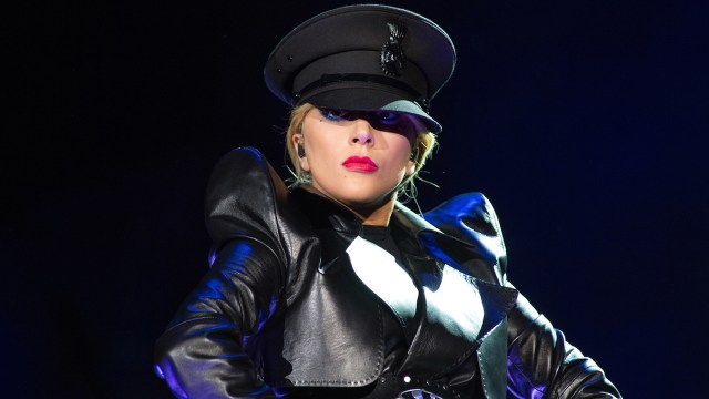 Lady Gaga on the main stage (Photo by Erik Voake, courtesy of Coachella)
