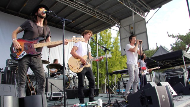 Trapdoor Social's early set last year at Sunstock (Photo by Jordan Kleinman)