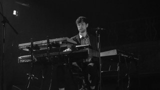 James Blake, in 2016 at the Belasco Theater (Photo by Annie Lesser)