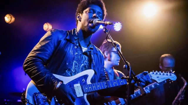 Curtis Harding at the Echo (Photo by Andie Mills)