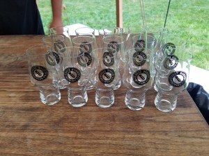 Buzz Bomb Tasting glasses