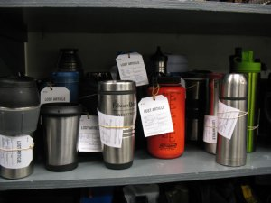 Travel mugs looking for a home!