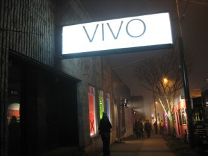 Vivo Media Arts Centre, where the launch was held. There's the Blanket Bus parked outside at the far right!