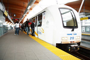 SkyTrain will play host to a silent dance party on Saturday.