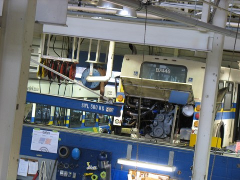After driving 800,000-900,000 kilometres, conventional and articulated buses get an overhaul at our vehicle maintenance centre, Fleet Overhaul.