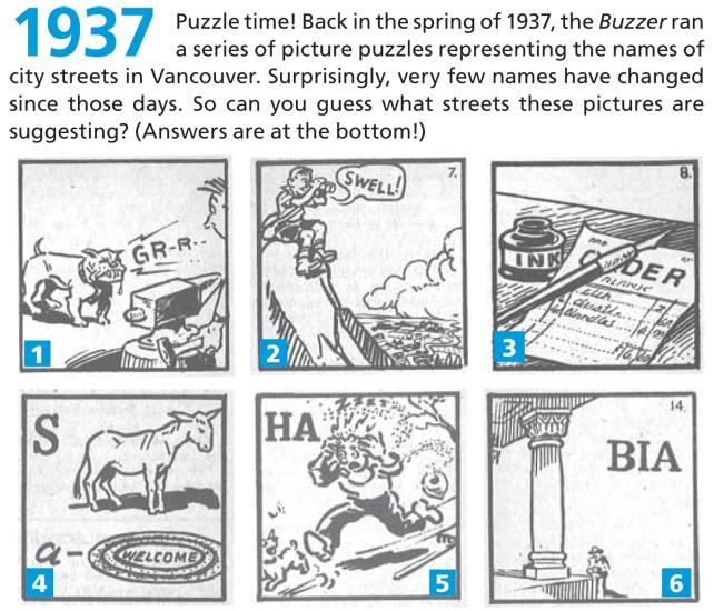 1937 streets trivia