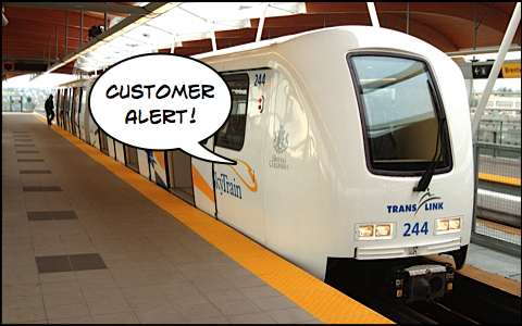 customer alert skytrain
