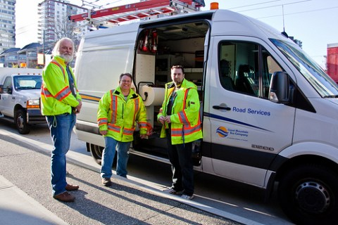 Road Services: Kevin, Gord and Shawn