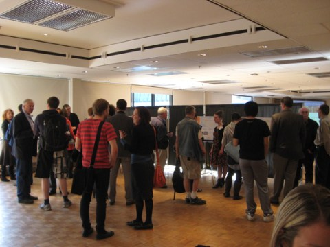 Some of the 60 people who came through the UBC Line community workshop on Thursday, April 22!