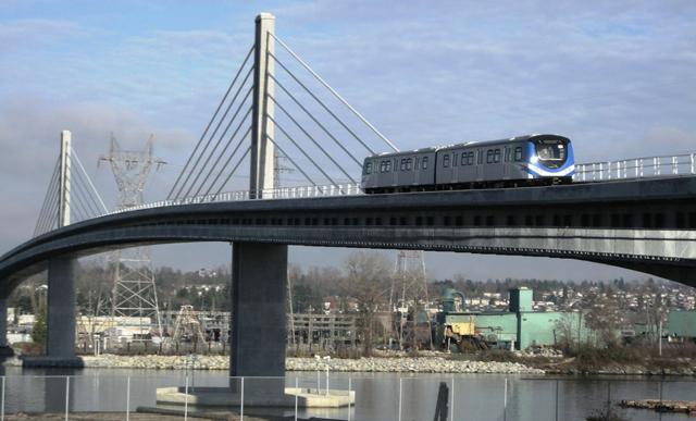 Canada Line and Bridge