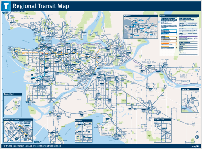 The buzzer blog new wayfinding signage is going up around the region the new regional transit map click the image to download a large pdf version sciox Image collections