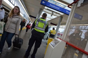 Transit Police are stepping up encorement of transit fares.