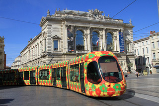 Montpellier TAM Citadis 302 - photo by Ian Fisher