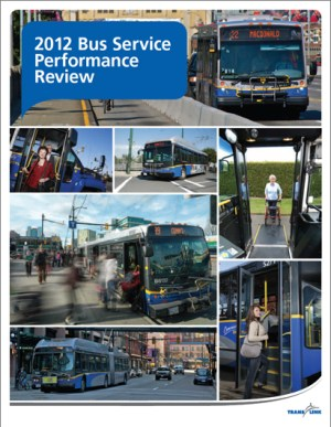 TransLink 2012 Bus Service Performance Review