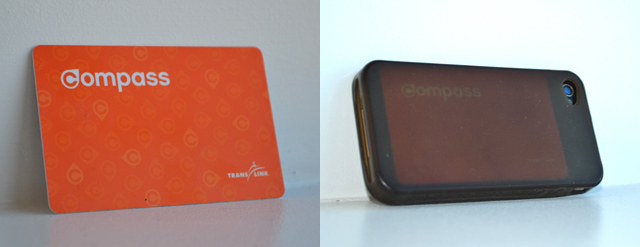 My Compass Beta card and how I make sure I don't forget it at home!