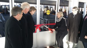 Ribbon cutting for the Burrard Otter II