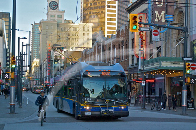 TransLink and the City of Vancouver have partnered to develop a shared vision for the downtown bus network