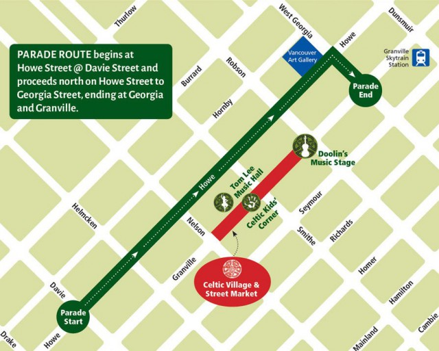 12th Annual St. Patrick's Day Parade begins at 11 a.m. on March 10