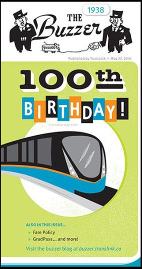 The 100th anniversary issue!