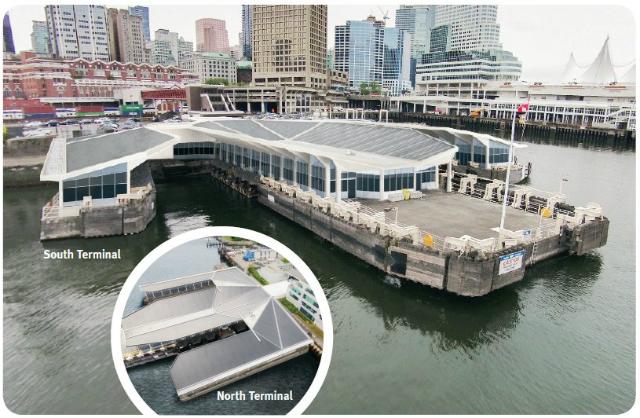 SeaBus terminals