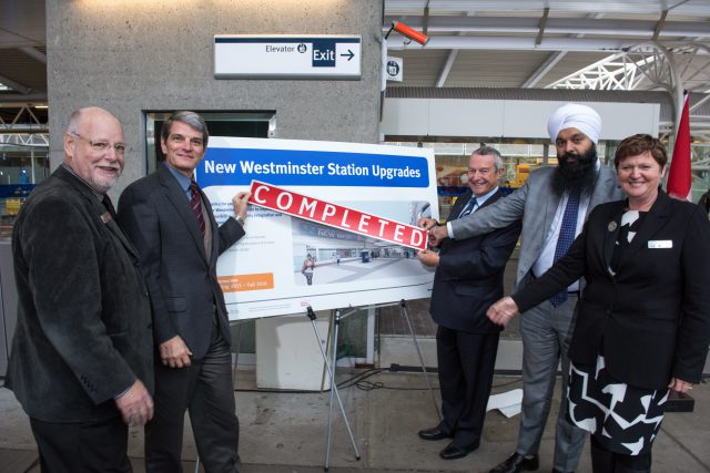 New Westminster Station Upgrades