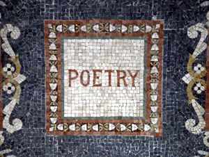 Poetry mosaic